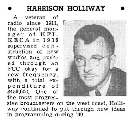 Harrison Holliway article