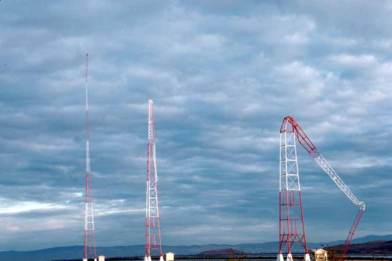 KGO's towers fall